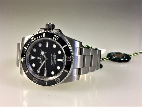 Rolex Submariner no Date, Ref. 114060, Full Set, MwSt. Ausweis