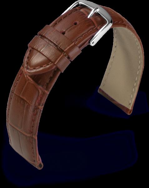 Lederband Guinea cognac 18 mm 800761823
