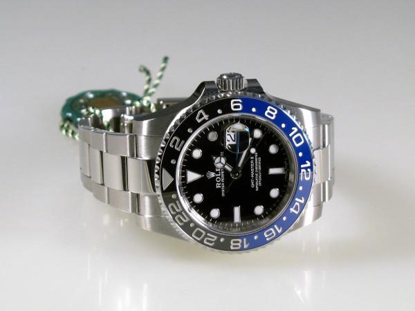 Rolex GMT Master II, BATMAN, Ref 116710BLNR, LC100, FULL SET