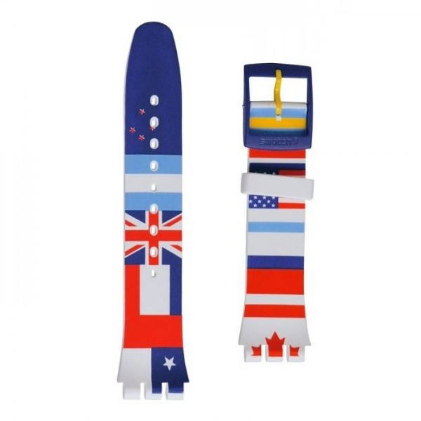 FLAGTIME / SILICONE STRAP