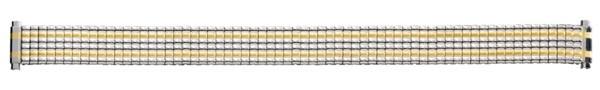 Flex Uhrarmband aus Edelstahl Bicolor 71-3105