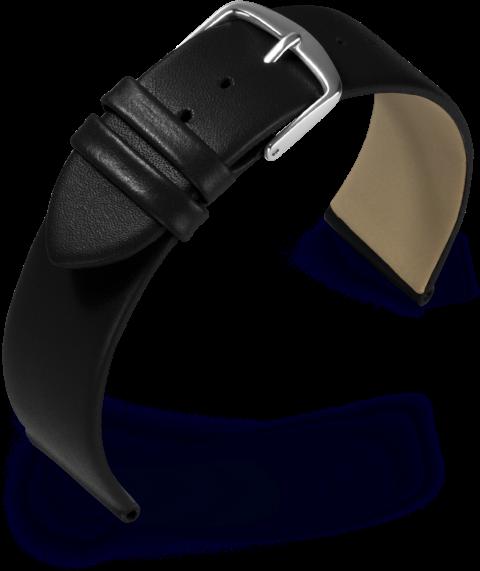 Uhrarmband Dolly schwarz aus Kalbleder 804162010