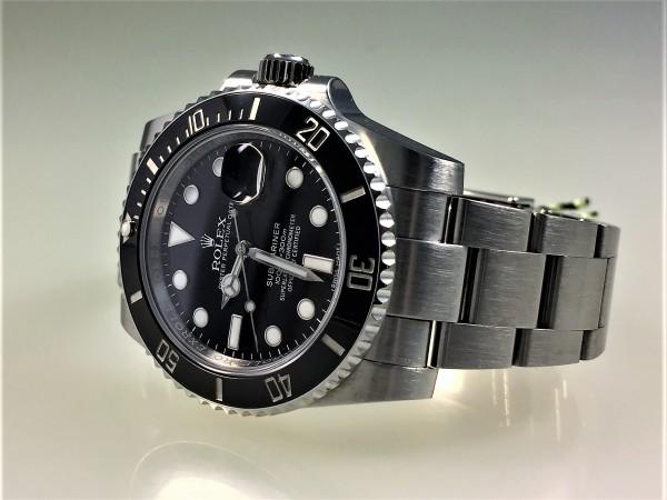 Rolex Submariner Date, LC100, Stahlgehäuse, Stahlarmband, Ref 116610LN