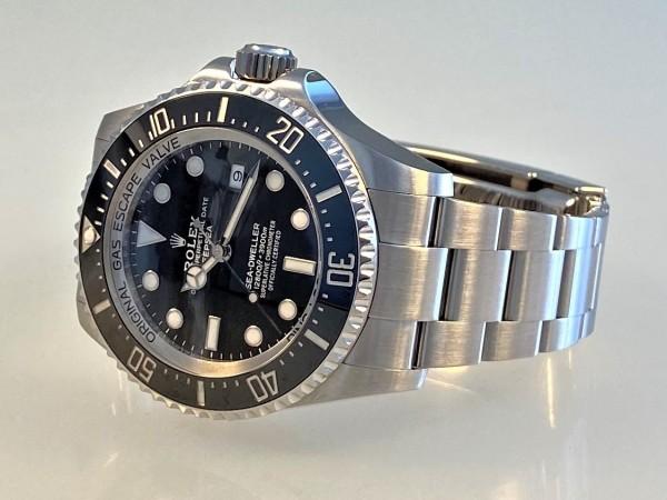 Rolex Sea-Dweller Deepsea Ref 126660, 44 mm, ZB schwarz, Sept. 2018, Full Set