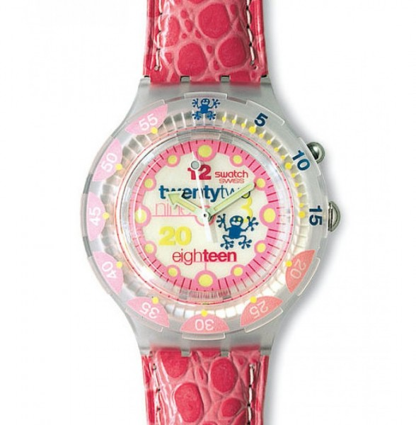 Swatch Scuba 200 Loomi PINK PLEASURE (SDN900)