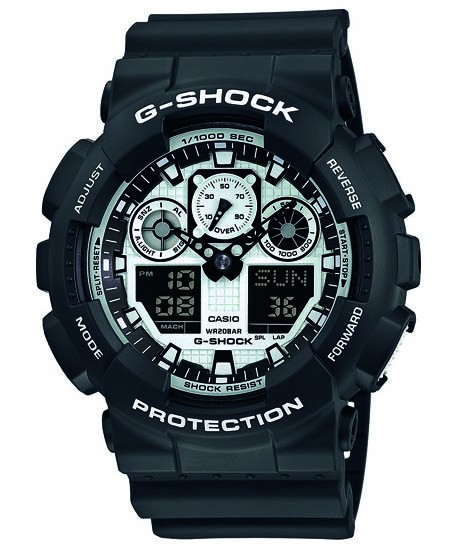 CASIO G-SHOCK Basis GA-100BW-1AER