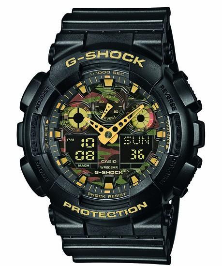 CASIO G-SHOCK Basis GA-100CF-1A9ER