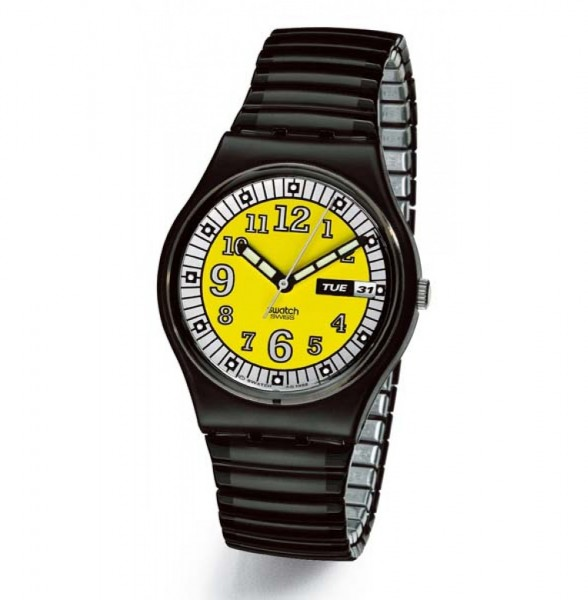 Swatch Gent Flex Cab Driver (GB739)