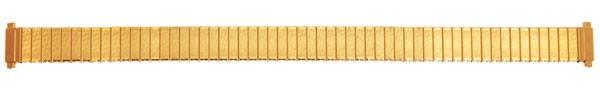 Flex Uhrarmband aus Edelstahl vergoldet 76-425001