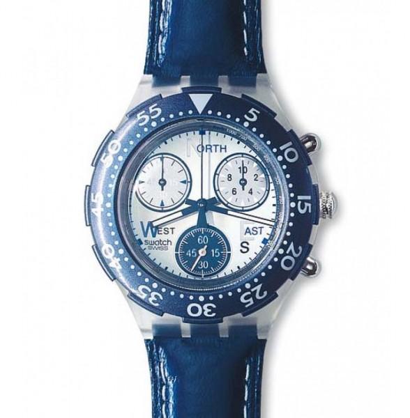 Midi Aqua Chrono Bleu Royale (SEK106)