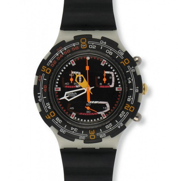 Aqua Chrono Roughneck (SBM109) 1B Band vergilbt