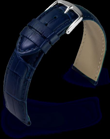 Lederband Guinea blau 18 mm 800761850