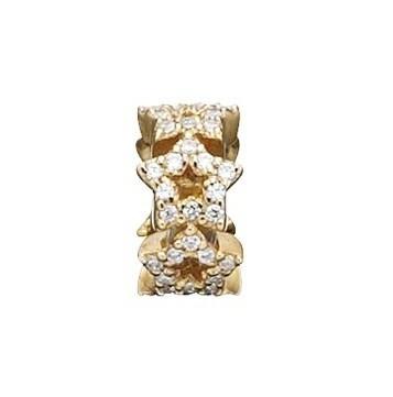 STORY Ring Silber vergoldet Sternband (5208945)