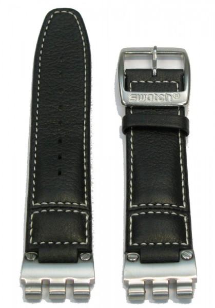 Ersatzband I-Chrono Black Leather (AYCS007)