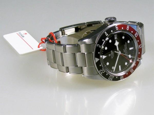 Tudor GMT, Stahl/Stahl, Ref. 7930RB, LC100, Full Set