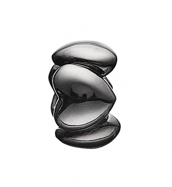 STORY Ring Silber schwarz rhod. (6008443)