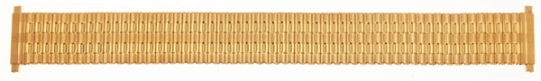Flex Uhrarmband aus Edelstahl vergoldet 76-415002