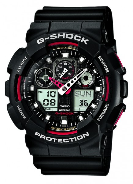 CASIO G-SHOCK Basis GA-100-1A4ER