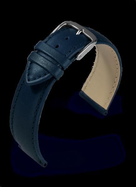Lederband Taurus dunkelblau 22 mm 342 622502