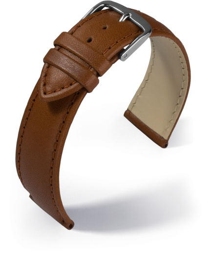 Lederband Taurus cognac 18 mm 342 61825